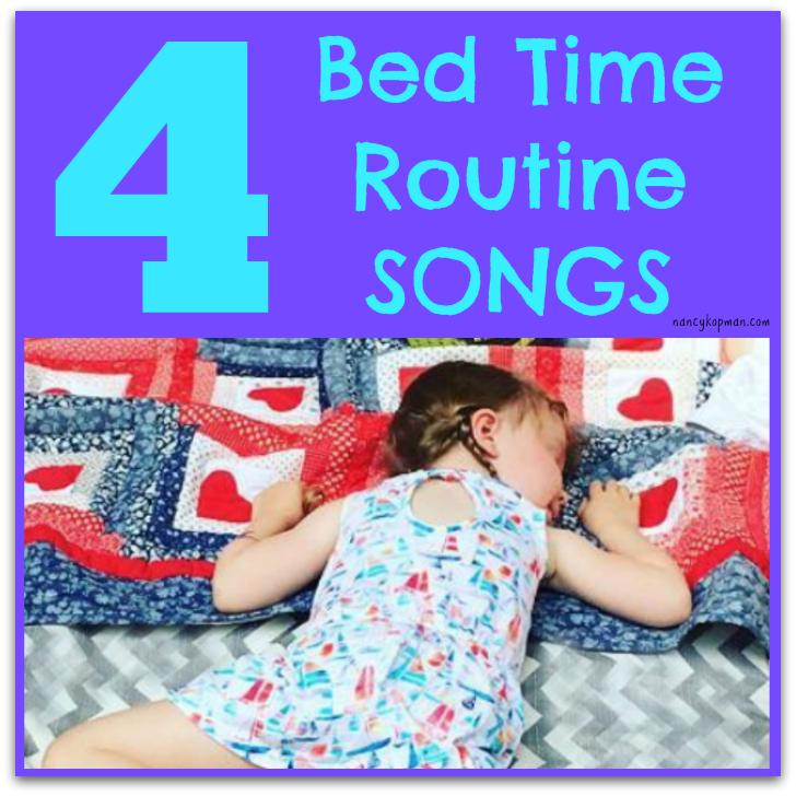 4 bedtime songs