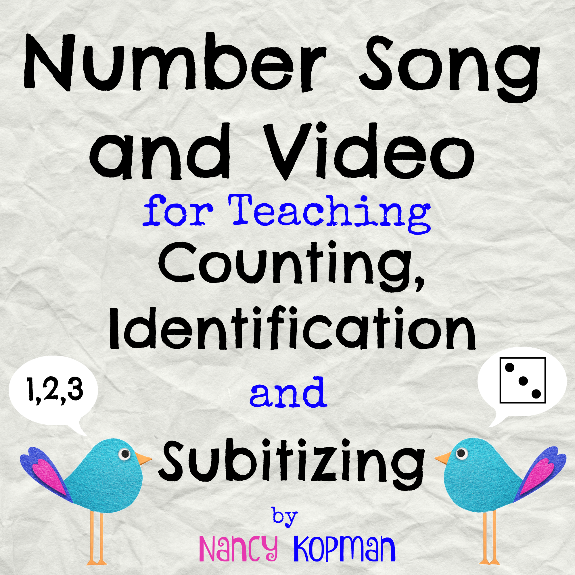 number song and video