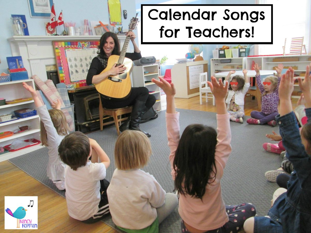 Calendar Time Songs!