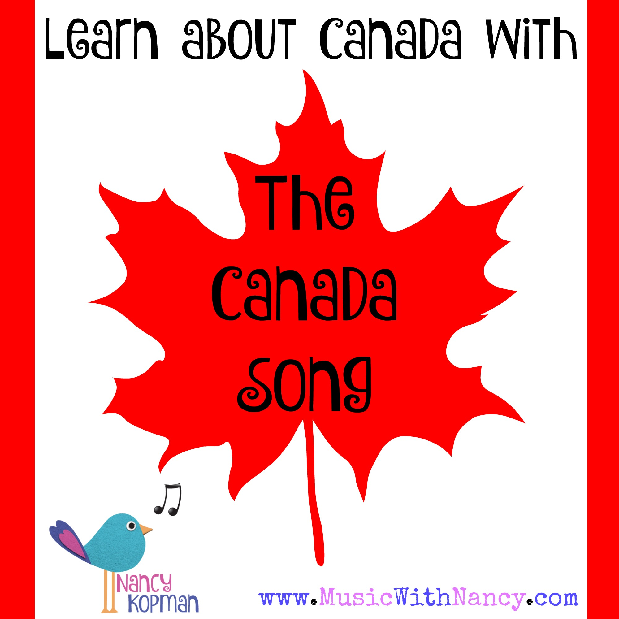 Canada Song Teach Learn