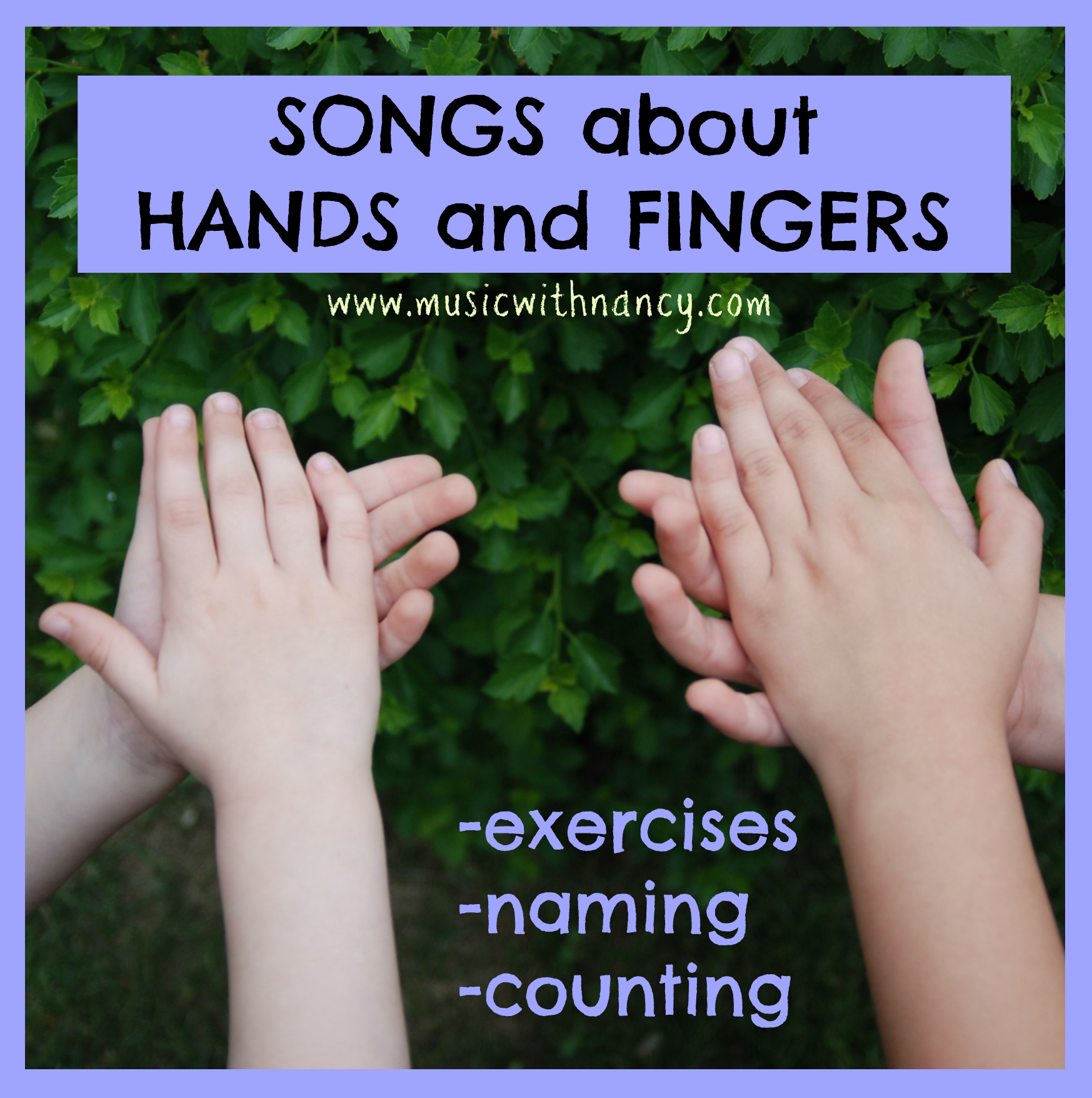 songs fingers hands
