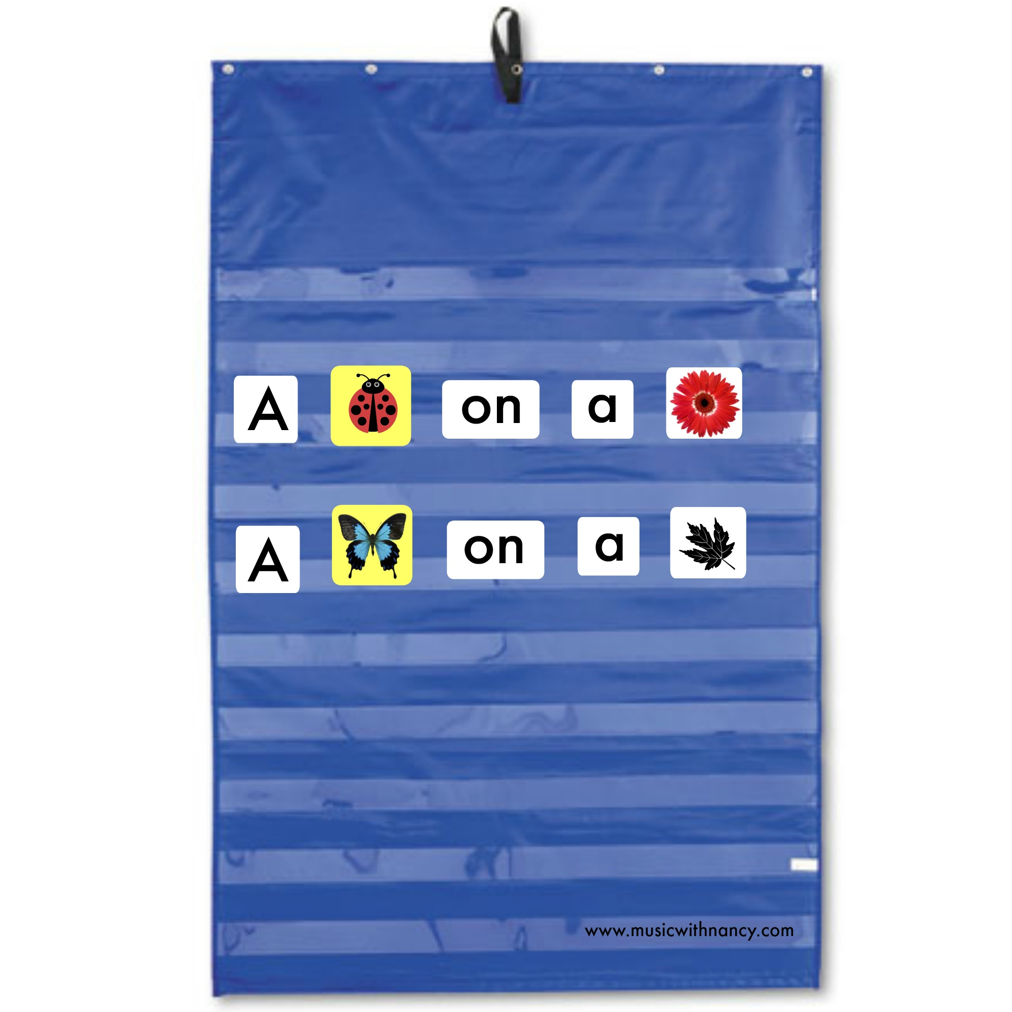 pocket chart picture words