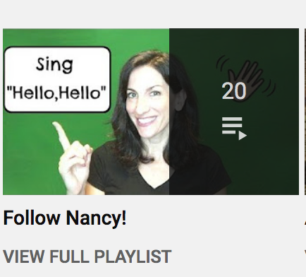 Follow Nancy Playlist