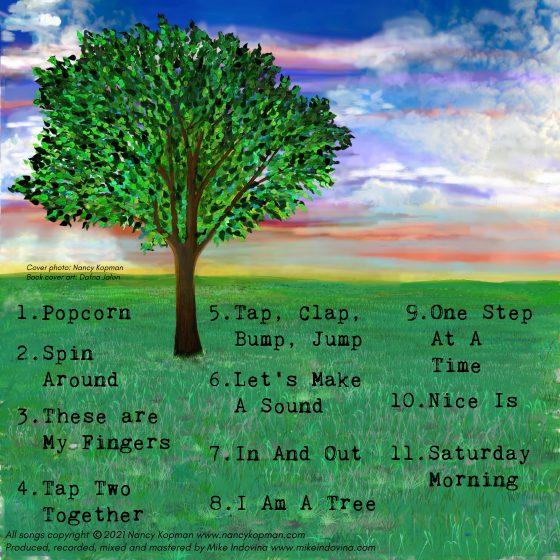 I Am A Tree back cover art