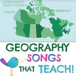 geography songs teach